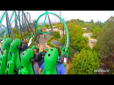 Stand-Up Roller Coaster - The Riddler