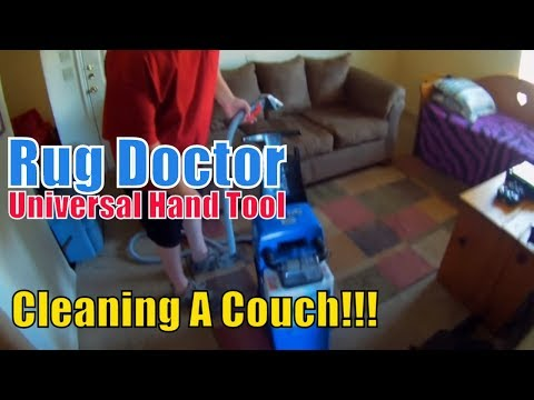Rug Doctor Universal Hand Tool Cleaning Couch