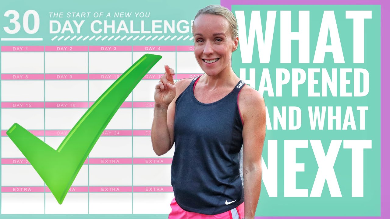 She ran every day for 30 days (what happened/what's next?)