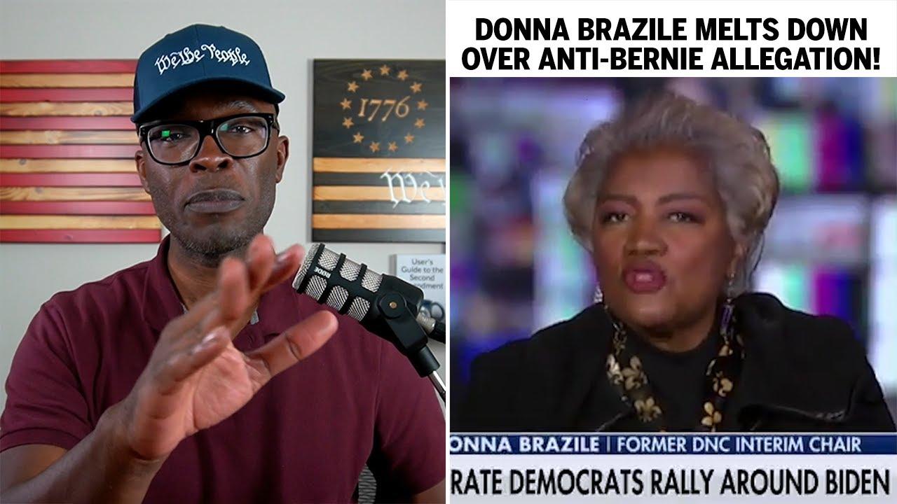 Donna Brazile MELTS DOWN Over ANTI-BERNIE Movement Allegation!