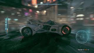 BATMAN ARKHAM KNIGHT: Hardcore Driving in Batmobile