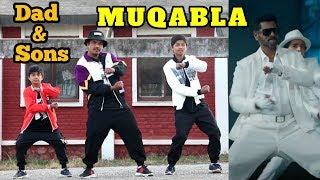 Download lagu Muqabla - Dad & Sons Amazing Dance Tribute to Prabhudeva | Street Dancer 3D | Varun D, Shraddha K