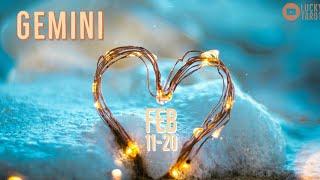 GEMINI💖FEB 11-20 Past Love & Karmic Relationship needs a final conclusion!