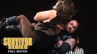 FULL MATCH - The Undertaker vs. Mankind: WWE Survivor Series 1996
