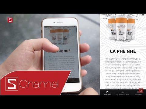 Schannel - Trải nghiệm ứng dụng The Coffee House: Tích luỹ điểm, nhận quà, tìm quán gần nhất...