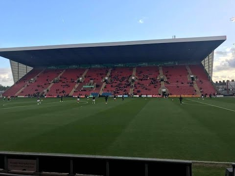 Crewe Alexandra Vs Rotherham United (FA Cup Round 1)
