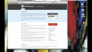 Wordpress mit MAMP auf Mac installieren