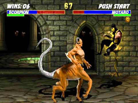 Fighting Game Bosses 28  Ultimate Mortal Kombat 3 - Motaro