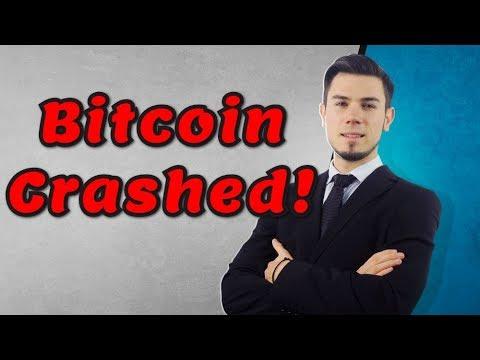 Bitcoin Crashed - Next Bottom $8,000 ?