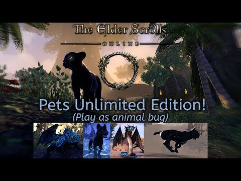 The Beauty of ESO through the eyes of animals! (Play as pets bug) |