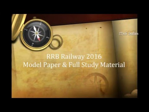 Papercraft RRB 2016 Exam Preparation | Complete Question & Model Paper | Railway Exams
