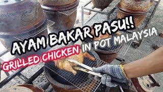Ayam Bakar Pasu | Grilled Chicken in Pot Malaysia This ayam bakar pasu stall is called Ayam Bakar Pasu Klasik and they are located at Jalan Desa Aman 1, ...