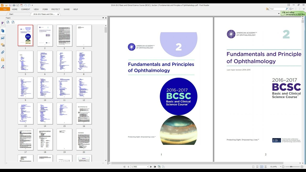 2016 2017 Basic And Clinical Science Course Bcsc Section 2