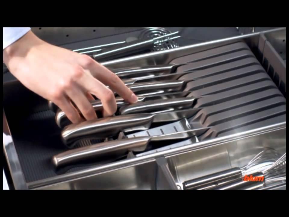 BLUM ORGA-LINE kitchen tools - YouTube
