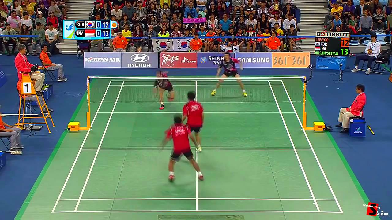 Best Of Badminton Men Double Highlights Funny Moments Trick Shots Dives Youtube