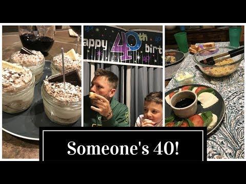 DITL | 1.16.18 | Someone's 40!!  ;-)