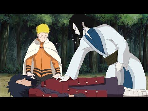 Naruto pedi a Orochimaru as células de Madara Uchiha para derrotar Jigen Otsutsuki - Boruto