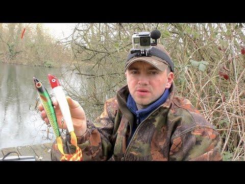 Рыбалка.ловля щуки на ДЖЕРКИ  ( НЕРЕСТ ЩУКИ ОКОЛО 8-ми  КГ....) но все же  одну словил щуку..