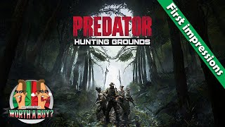 Predator Hunting Grounds - First impressions