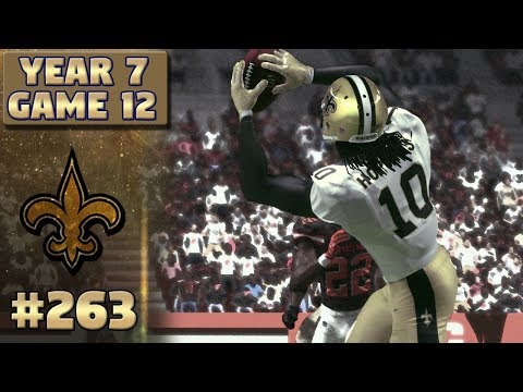 Monday Night Football | @ Browns (S7,G12) | Madden NFL 17 New Orleans Saints Franchise Ep. 263