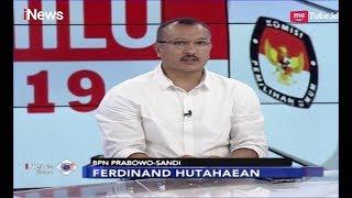 Ferdinand Hutahaean Hasil Pemilu Jangan Ditentukan dari Quick Count - iNews Sore 1804