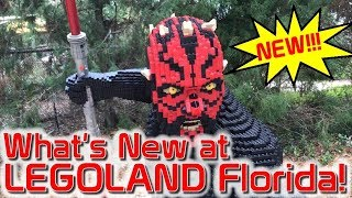 Legoland Florida 2018 - What's New?
