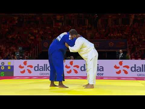 David Moura BRA Teddy Riner FRA 0:1 +100kg World Senior Championship 2017 Final