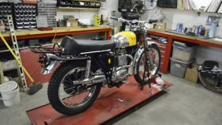 bsa victor special completed