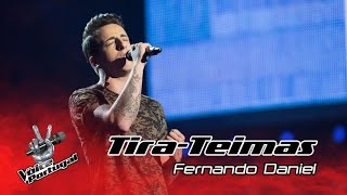 Fernando Daniel - Dancing on my own | Tira-Teimas | The Voice Portugal