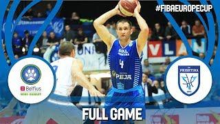Belfius Mons-Hainaut (BEL) v Sigal Prishtina (KOS) - Full Game - FIBA Europe Cup 2017-18 thumbnail