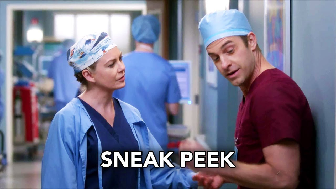 Grey\'s Anatomy 14x17 Sneak Peek \