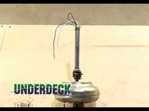 Underdeck Ceiling Fan Installation