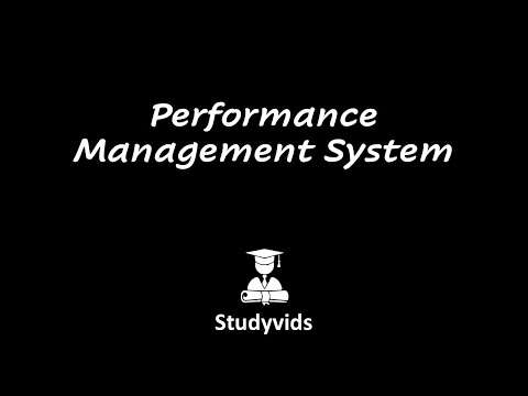 N0510C  Performance Management System
