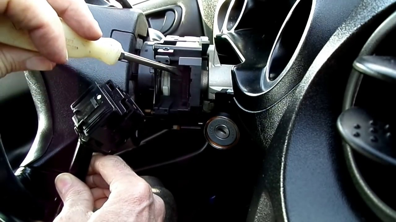 Mitsubishi Eclipse Multifunction Switch Removal  YouTube