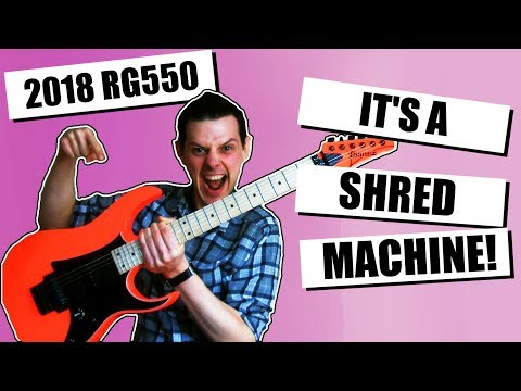 2018 Ibanez RG550 Review