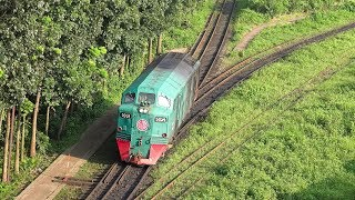 GM B12 Locomotive- Most Oldest Rail Engine in operation of Bangladesh Railway (65 years old)