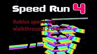 Roblox speed run walkthrough ( 2 dies ) || Huy Pacman