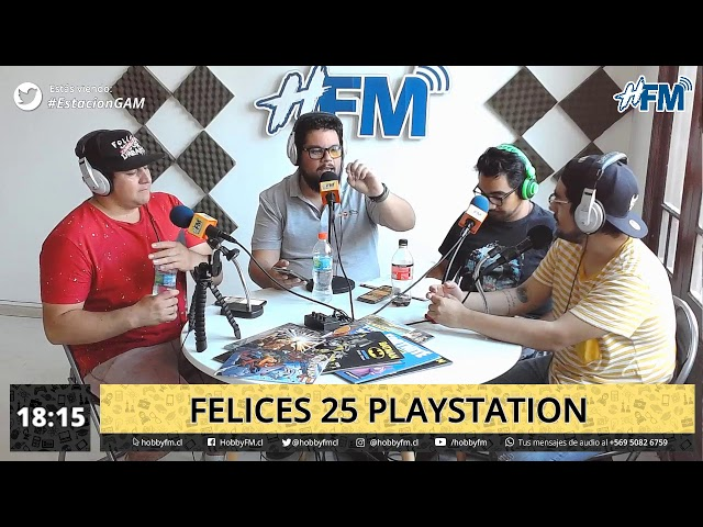 Estación Gam / felices 25 Playstation - 04 de diciembre 2019