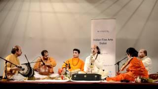 """Kadri Gopalnath in Dubai ;  """"Brahmam Okate""""-Annamayya Song"""