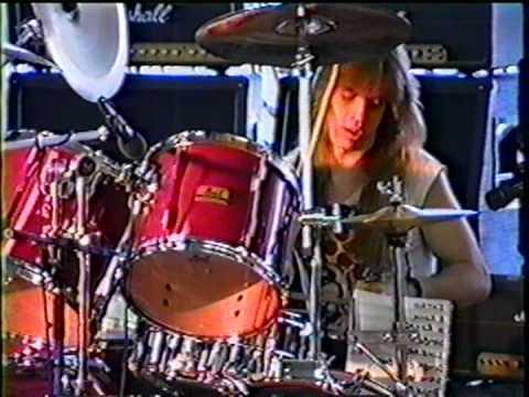 Guitar Center Drum-off 1989, Santa Ana, CA - Dave Goode