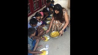 Chicken biryani served to kids | Meera's kitchen