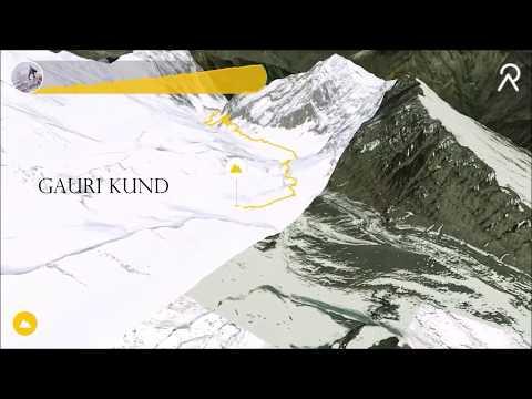 Chamba Kailash Terrain Map Video