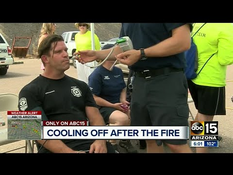 NASA, world class athletes technology used on Valley firefighters