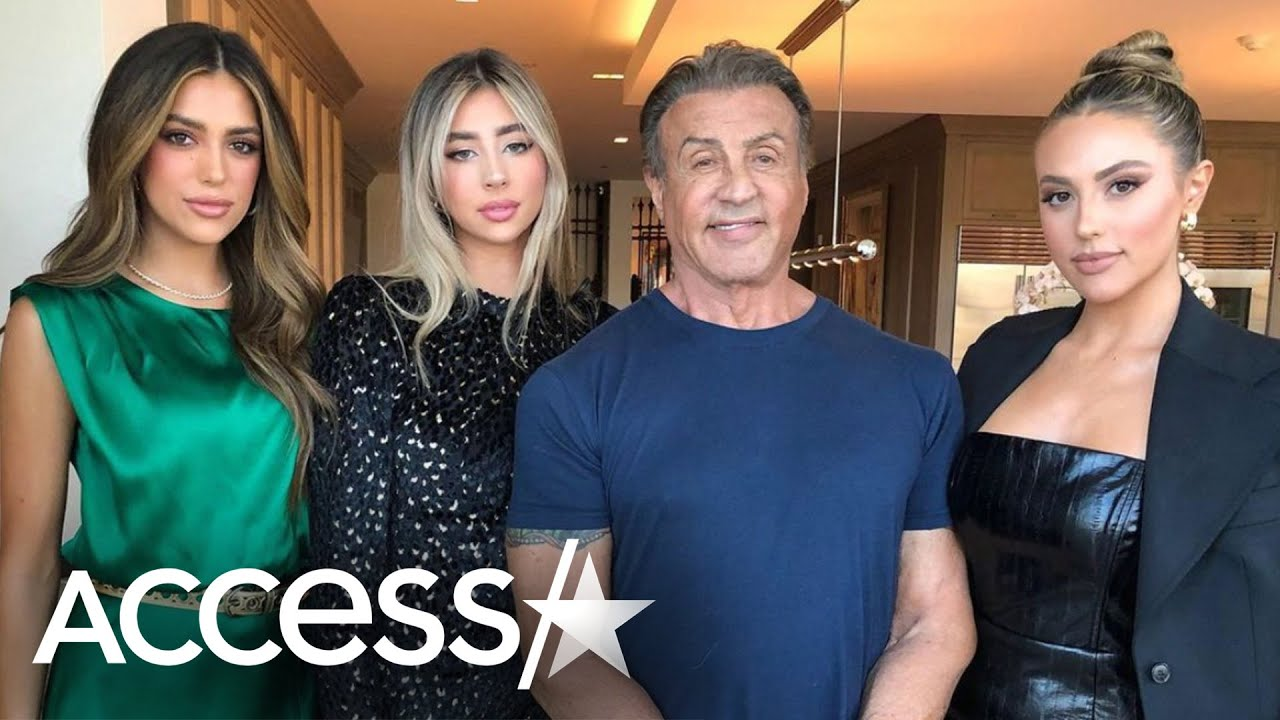 Sylvester Stallone Wishes His Daughters Weren't So Tall!