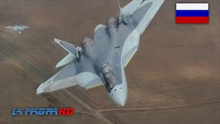 T-50 PAK FA - New Russian Stealth Aircraft - ПАК ФА Т-50