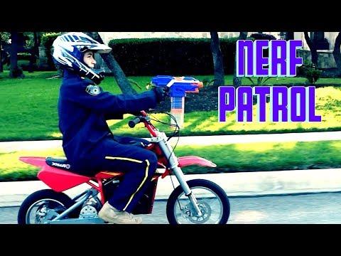 Nerf Sniper vs Nerf Patrol!