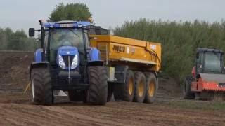 Grondwerk met JOSKIN grondverzetkipwagens kipwagens