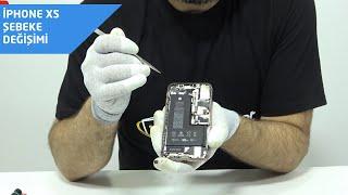 iPhone xs şebeke, hoparlör, titreşim (taptic engine) tamiri incelemesi # iphonexs