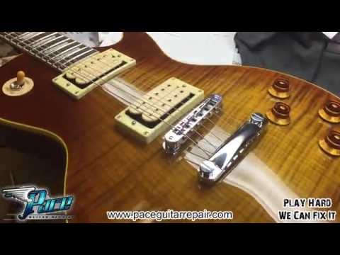 Chinese Gibson Les Paul gets an overhaul at Pace Guitar Repair