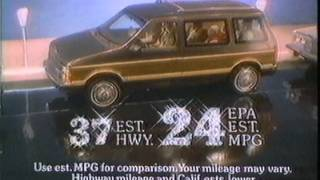 1984 Chrysler Voyager Commercial